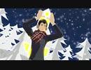 【進撃のMMD】ベルトルトに好き!雪!本気マジック踊ってもらった。