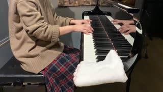 ペーパーマリオカラースプラッシュの「黒ペンキ 最終決戦」をピアノで弾いてみた
