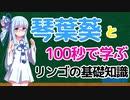 【VOICEROID劇場】琴葉葵と100秒で学ぶ、リンゴの基礎知識