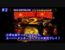 【スーパードンキーコング2】大人になってからプレイ!#2B