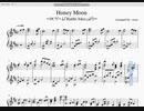 【楽譜】「Honey Moon」【RIDDLE_JOKER】