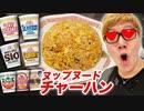 【腸感嘆】ヌップヌードチヤーヘンを7種類作って8位を決めたらまさかの結果に!!【ホイホイ炒飯】