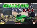 【Ninja250R】鹿児島で湖畔キャンツー【ゆっくり車載】