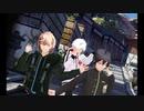 【MMD】ぴろぱるさん、罰丸くん、律可ちゃんに『桃源恋歌』踊ってもらいました