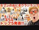 【○ン○ング】マスカキンが選ぶマジで抜けるセブーン…のお○にぎりTOP4545発表!