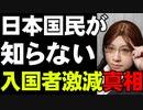 日本人の知らない中国からの日本入国者激減 抜け穴マルチビザとは