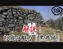 ゆっくり解説!お城の魅力『黒井城』