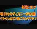 【新型コロナ】明日からディズニーが休園ですが、クラッシュはどう過ごすんですか【タートルトーク】東京ディズニーシー
