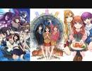 2015年冬アニメ・話数ごとの人気ランキングの推移【ニコ生】【2015年1月期】
