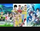 2013年秋アニメ・話数ごとの人気ランキングの推移【ニコ生】【2013年10月期】