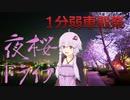 【1分弱車載祭】ゆかりさんと千波湖の夜桜ドライブへ