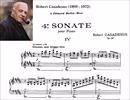 R.Casadesus - Sonate pour Piano No. 4, Op. 56:IV.Giocoso, non troppo vivo
