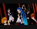 【MMD艦これ】ガチ百合の女王 SSR家5人娘【RAY】
