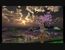 サーバルのVR Chatわーるど訪問(18)  その1 花と空が綺麗なわーるど