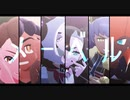 【MMDポケモン】剣盾メーベル【ユウリ・ホップ・マリィ・ネズ・キバナ・ダンデ】