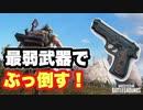 【PUBG LITE】武器縛り P92という弱くて弾速が遅い武器を使ってドン勝!【ゆっくり実況】#7