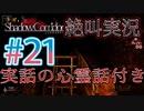 【ホラー】ビビリとゲラの影廊 絶叫実況 実話の心霊話付き#21