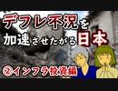 【漫画】デフレ不況を加速させたがる日本②インフラ投資編