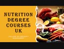 Nutrition Degree Courses UK