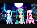 【MMD】Tda式ミクさん(デフォ・桜・雪)が踊ってみた!【Prhythmatic】