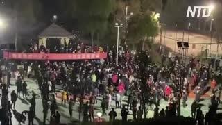 湖北省で暴動多発&当局は徹底弾圧
