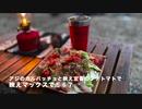 夫婦キャンプ映え①〜⑨編 琵琶湖畔 松ぼっくりで着火 メスティンで天ぷら