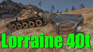 【WoT:Lorraine 40 t】ゆっくり実況でおくる戦車戦Part696 byアラモンド
