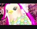 【MMDアマビエ】桜とアマビエちゃんと『PiNK CAT』