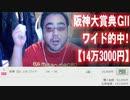 【よっさん】阪神大賞典GⅡでワイド的中!【14万3000円】