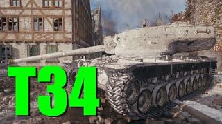 【WoT:T34】ゆっくり実況でおくる戦車戦Part698 byアラモンド