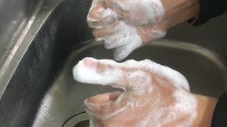 Valkyrie dimensionで学ぶ20秒手洗い