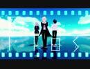 【ダンガンロンパMMD】flos【狛枝、日向、七海】