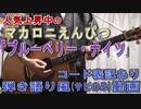 【コード譜あり】「ブルーベリー・ナイツ」サビだけ弾き語り風【演奏動画】