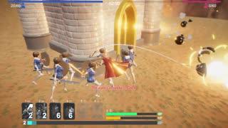 【フィギュア 模擬戦】美少女フィギュア達のタワーディフェンスゲーム②(プレイ動画)