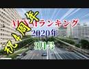 【愛され続けて】AKNMランキング2020年3月号【4周年】