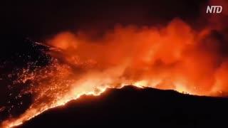 四川省で山火事・消防士ら19人死亡