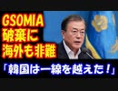 【海外の反応】 韓国 GSOMIA(軍事情報協定)終了に 海外から 多数のコメント! 「ついに一線を越えた!」