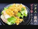 【電子レンジ】豚肉おつまみウマッ【簡単レシピ】
