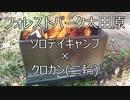 めちゃもえファイヤー+焚き火+二次燃焼でソロデイキャンプ!