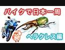 【YZF-R25】バイクで日本一周【ヘラクレス編】