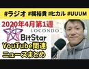 2020年4月第1週YouTube関連ニュースまとめ~UUUMを追撃するユーチューバー事務所が攻勢【ラジオ#065】