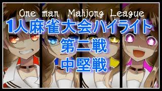 【切り抜き】1人麻雀大会第二戦中堅戦ハイライト【楠栞桜】