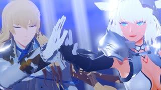 【Fate/MMD】キリシュタリアとカイニスで「イレヴンレイヴガール」【1080p】【FGO】
