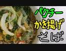 パクチーかき揚げそば【ニコニコネット超会議2020パンツマン料理祭】