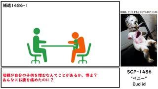 """【ゆっくり紹介】SCP-1486【""""ベニー""""】"""