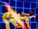 【逆リョナ】裸ユリのおしりや蹴りに負ける動画【カプエス2001】
