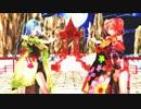 Rey MMD Tda式 初音ミク 重音テト Japanese Kimono 【[A]ddiction】悠々杯3rd