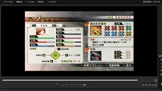 [プレイ動画] 戦国無双4の神流川の戦いをもえみでプレイ