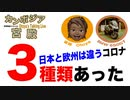 違いがあった!日本と欧州のウイルスは違うと判明!人類を恐怖に陥れるアノ疫病は3種類あった!