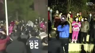 野菜のボッタクリ高値に抗議した住民を当局が逮捕=湖北省応城市